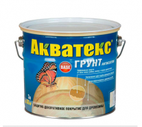 """Состав """"Акватекс. Грунт-антисептик"""" - 3л."""
