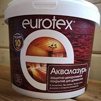 """Состав """"Евротекс"""" (лак защитно-декоративный), 2,5 л"""