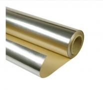 Фольга алюминиевая на бумажной основе. 1000мм х 10 м