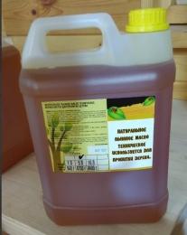 Натуральное льняное техническое масло,  5 литр